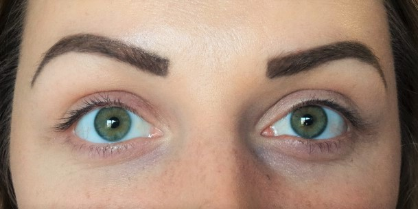 Before Lash and brow work